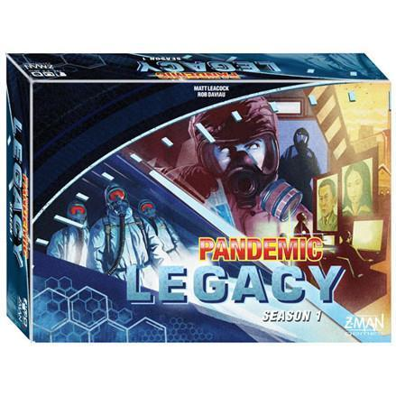 Pandemic Legacy Season 1: Blue - TOYTAG