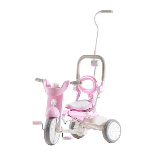 iimo x macaron Foldable Tricycle #2 - Sugar Pink (Limited Edition) - TOYTAG