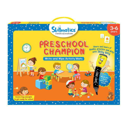 Skillmatics Educational Game: Preschool Champion