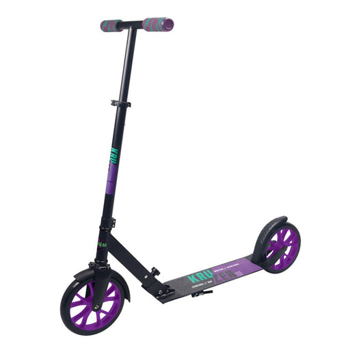 Madd Gear Kruzer 200mm Scooter - Purple/Teal