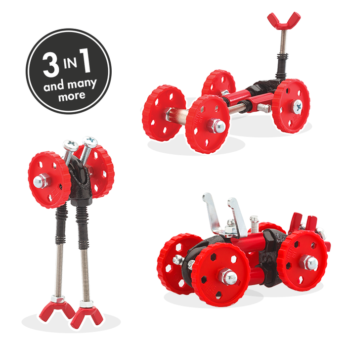 OFFBITS Vehicle Kit – Red - TOYTAG