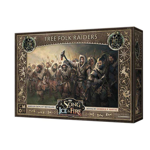 A Song of Ice and Fire: Free Folk Raiders Unit Box - TOYTAG