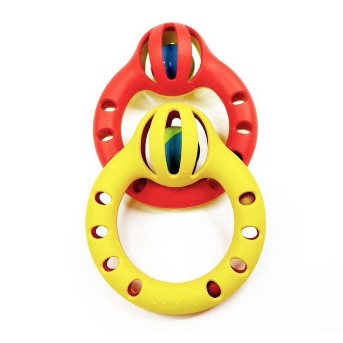 Bioserie Toys - Round Rattle - TOYTAG
