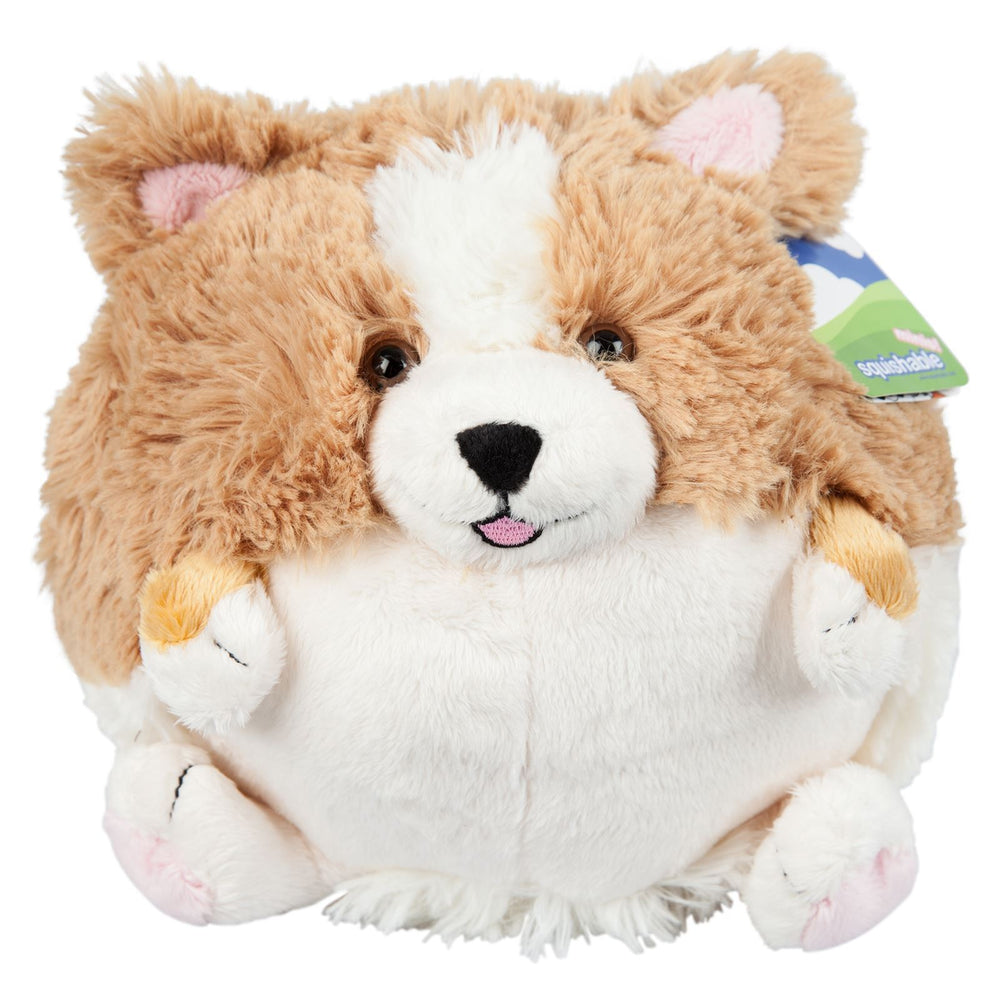 "Mini Squishable Corgi 7"" Plush"