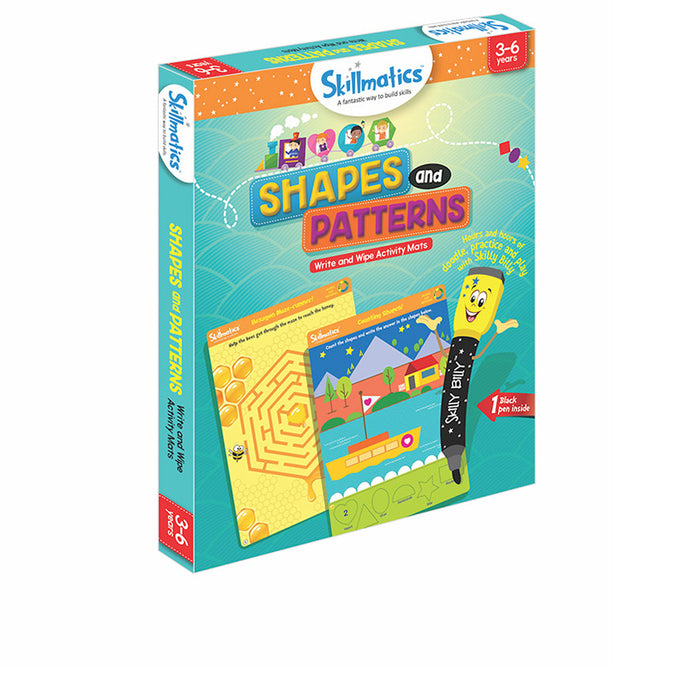 Skillmatics Educational Game: Shapes and Patterns