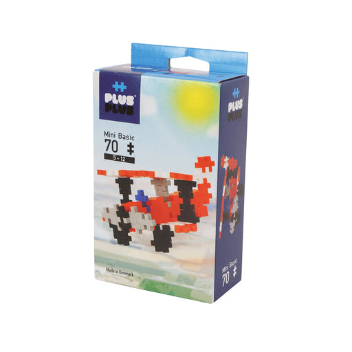 Plus-Plus Basic Airplane / 70 pcs