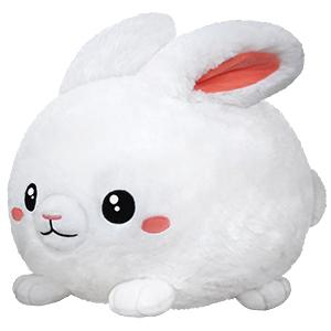 "Squishable Fluffy Bunny 15"" - TOYTAG"