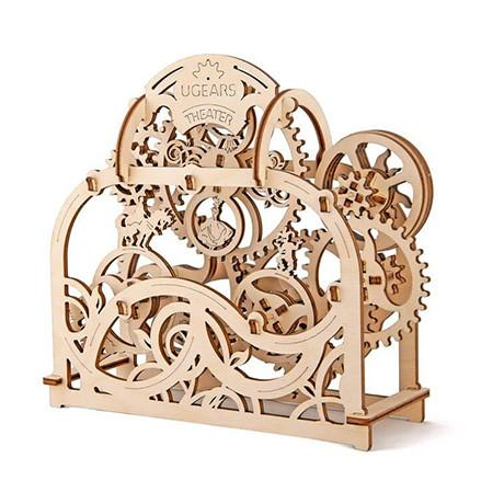 UGEARS 3D Wooden Puzzle - Theater - TOYTAG