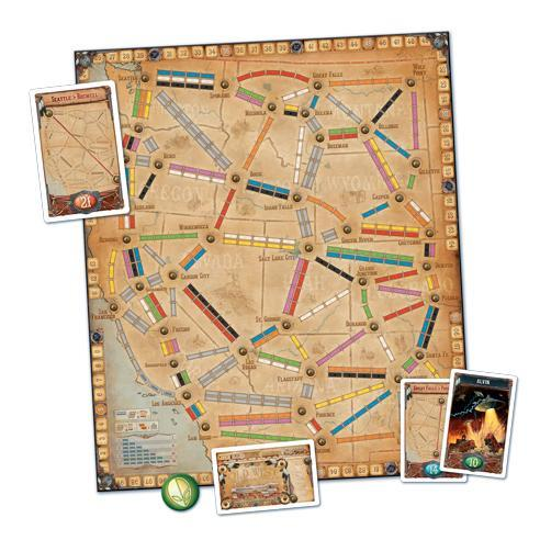 Ticket to Ride: France - TOYTAG