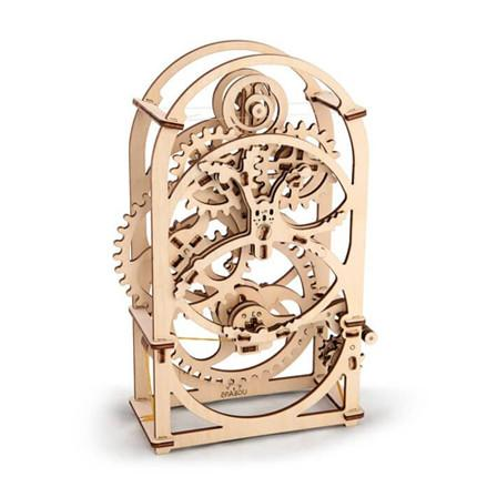 UGEARS 3D Wooden Puzzle - Mechanical Timer - TOYTAG