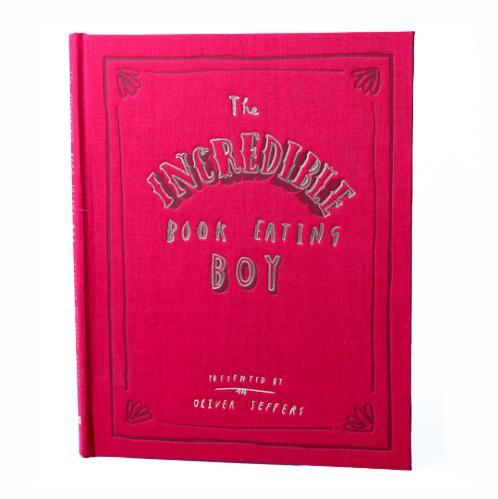The Incredible Book Eating Boy Hardcover(10th Anniversary edition)
