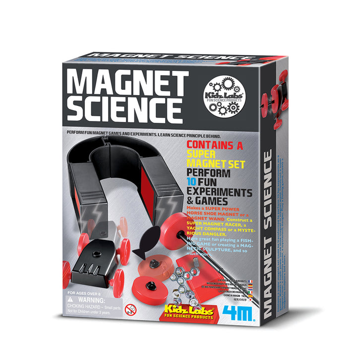 4M KidzLabs Magnet Science Kit