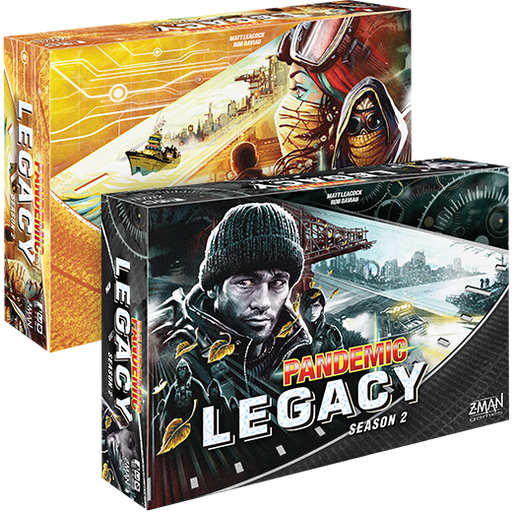 Pandemic Legacy Season 2: Black - TOYTAG