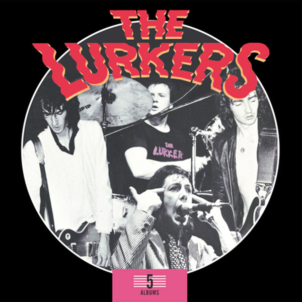 THE LURKERS – 5 CD BOX SET