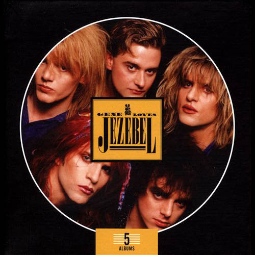 Gene Loves Jezebel - 5 albums CD