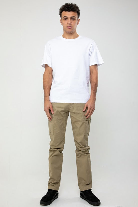 Wade Utility Cargo Pant In Stone - DML Jeans
