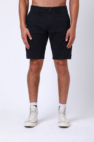 Rookie Cargo Short In Navy - DML Jeans