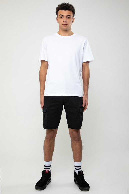 Rookie Cargo Short In Black - DML Jeans