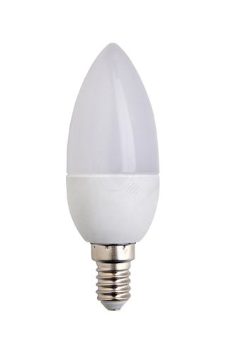 BIGLED Κεράκι 3w FROSTED - E14 3000k 300lm 230v 270° IP20 - ecosave.gr