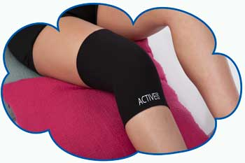 Active650 Knee support for sore knees, aching knees and right knee pain