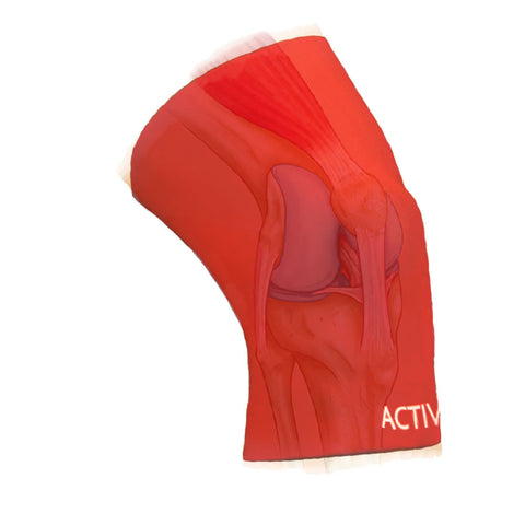 Knee Support from Active650 reduces pain from knee arthritis