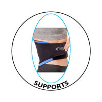 Back supports knee supports ankle supports and more