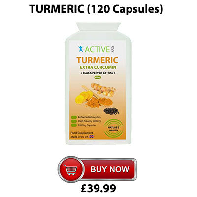 Active650 turmeric capsules for joint health and joint pain from arthritis