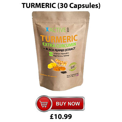 Daily turmeric capsules from Active650 for amazing joint pain relief