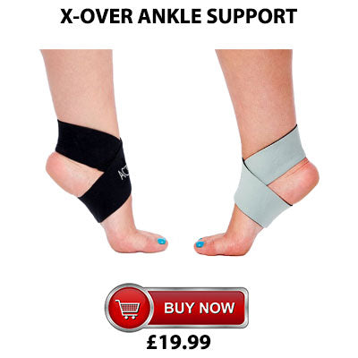 Active650 X-Over Ankle Support for plantar fasciitis and mild ankle pain