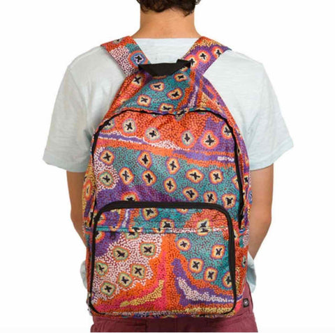 Ruth Stewart folding backpack