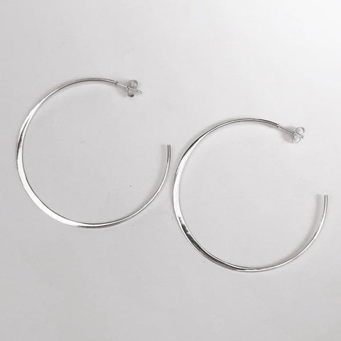 Open end hoop earring