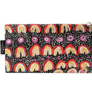 Cotton pouch by Maggie Long