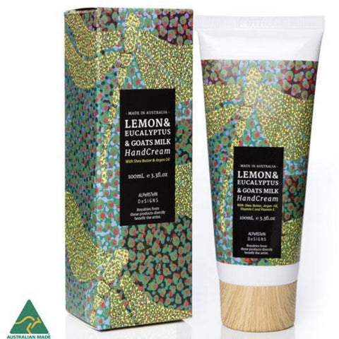 Hand cream Lemon & eucalyptus