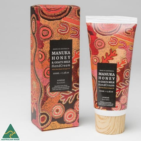 Hand cream Manuka honey