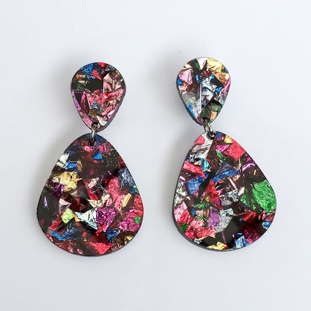 Teardrop Earrings - Fiesta