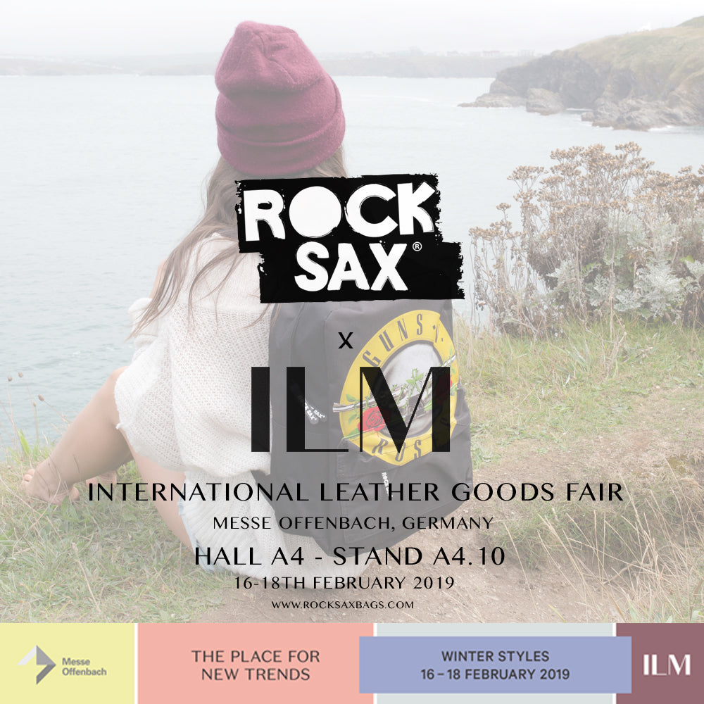 Rocksax @ ILM - International Leather Goods Fair - Frankfurt, Germany
