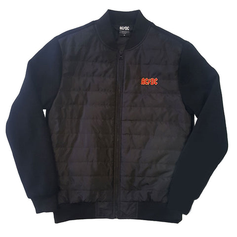 AC/DC Quilted Jacket - Logo