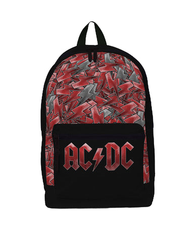 AC/DC Backpack - Logo All Over Print