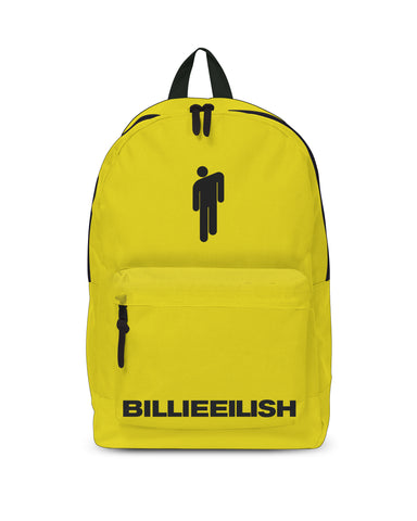 Billie Eilish Bad Guy Yellow Backpack from Rocksax | Buy Now from   £24.99