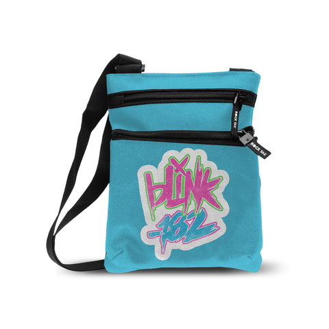 Blink 182   Body Bag   Logo Blue from Rocksax | Buy Now from  £16.99