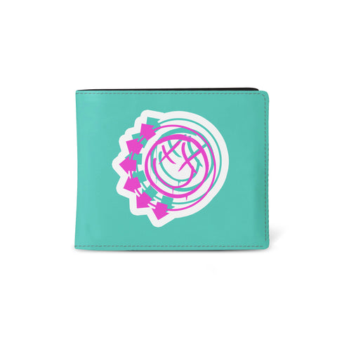 Blink 182   Wallet   Smiley Green from Rocksax | Buy Now from  £9.99