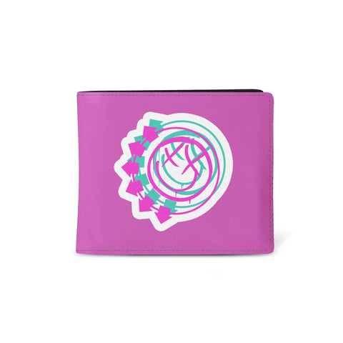Blink 182   Wallet   Smiley Pink from Rocksax | Buy Now from   å £9.99