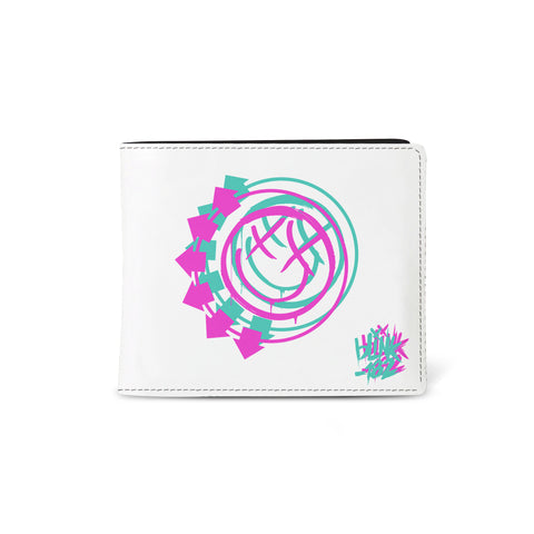 Blink 182   Wallet   Smiley White from Rocksax | Buy Now from   å £9.99