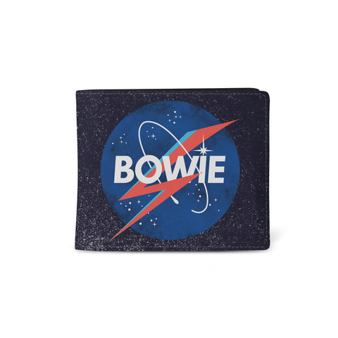 David Bowie   Wallet  NASA x Aladdin Sane from Rocksax | Buy Now from   £9.99