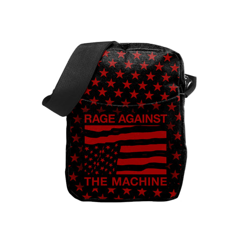 Rage Against The Machine   Crossbody Bag   USA Stars from Rocksax | Buy Now from  £16.99