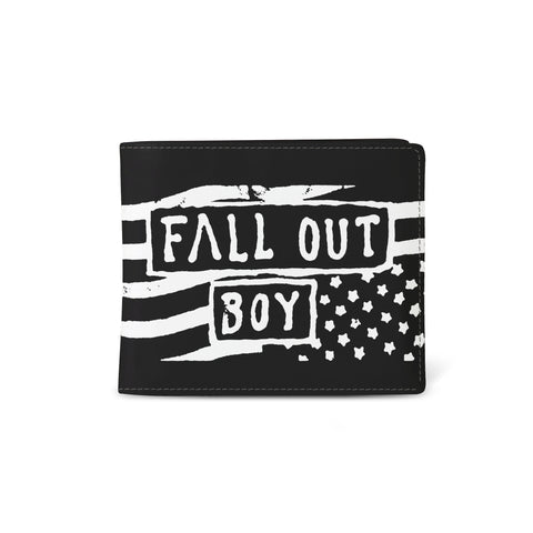 FALL OUT BOY - WALLET -  FLAG from Rocksax | Buy Now from   å £9.99