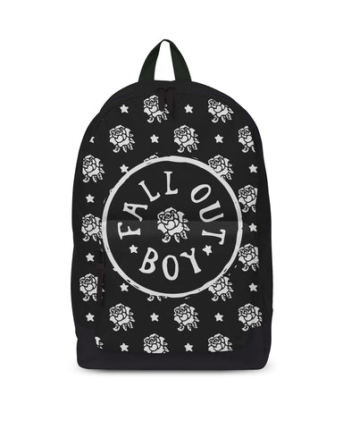 Fall Out Boy Backpack - Flowers