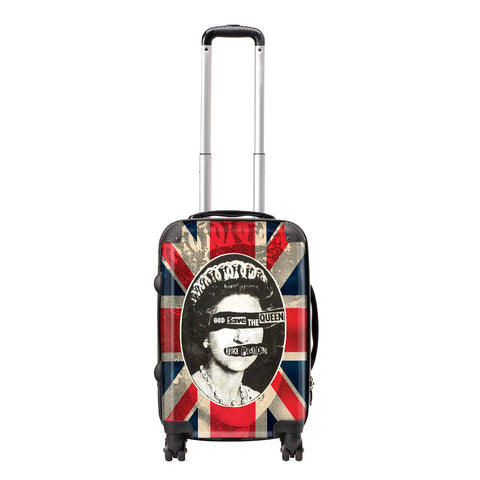 Sex Pistols Travel Backpack - God Save The Queen Luggage