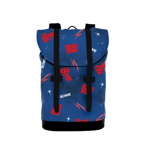 David Bowie   Heritage Bag  Logo Small from Rocksax | Buy Now from   å £34.99