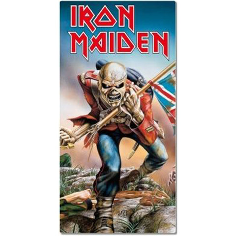 Iron Maiden Beach Towel - The Trooper